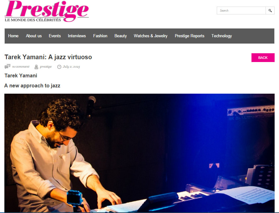 Prestige Mag - July 2015