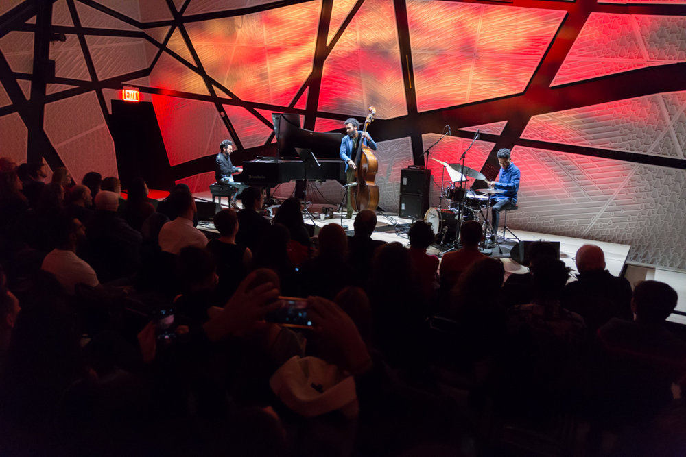 At the National Sawdust, Brooklyn with Russell Hall & Jonathan Barber