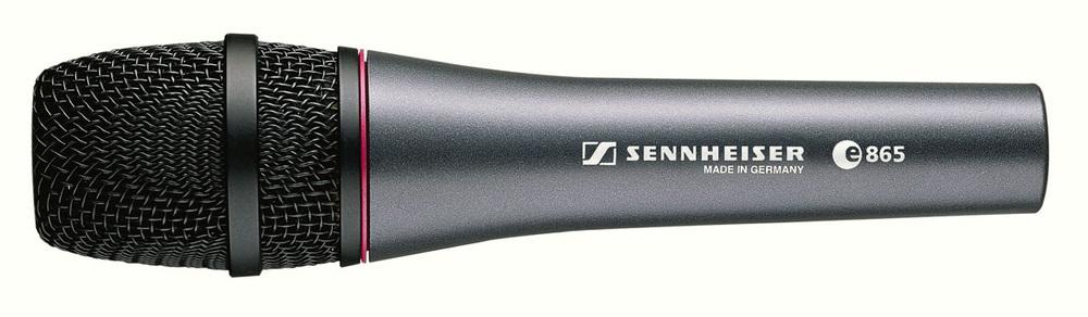 E865 Sennheiser handheld