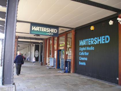 Watershed is a cross-artform venue and producer, sharing, developing and showcasing exemplary cultural ideas and talent. We are based in Bristol, but place no boundaries on our desire to connect with artists and audiences in the wider world.