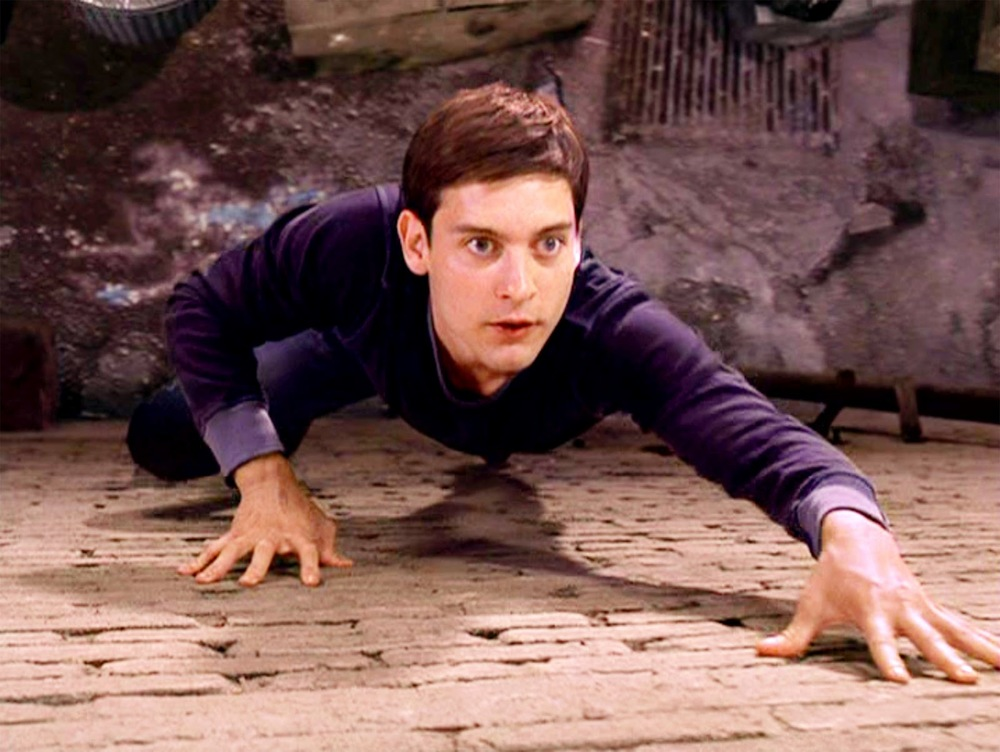 Peter Parker from  Spider-man