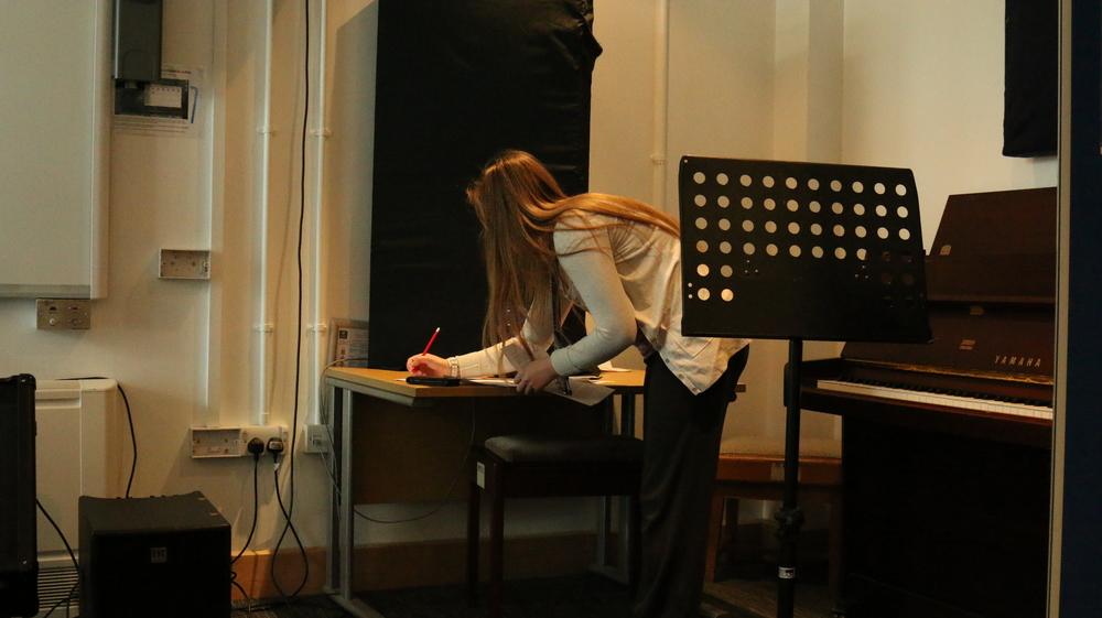 Preparing the script for Lizzy