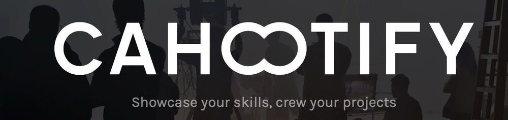 Cahootify is the online portfolio and team-forming platform for the film, media and entertainment industry.