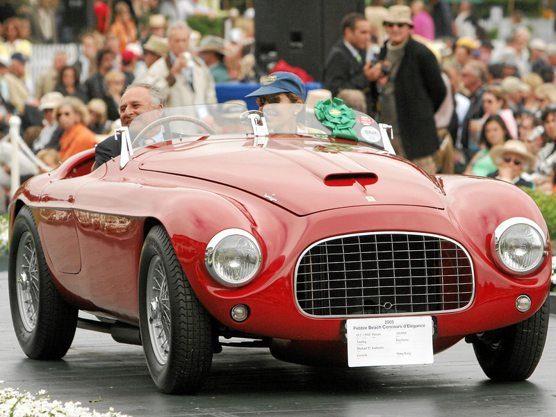 Ferrari 166 Pebble Beach Concours