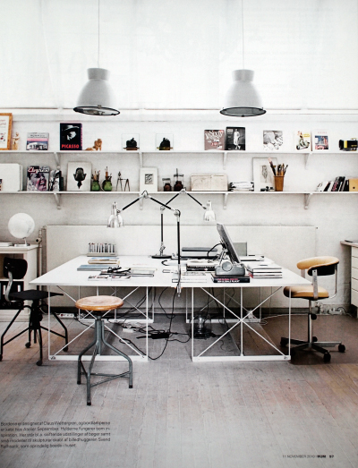 architectureinspiration: via interiors-porn Would love work space like this. Yeahhh… <3