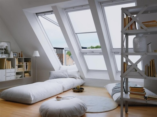 I love attic spaces!