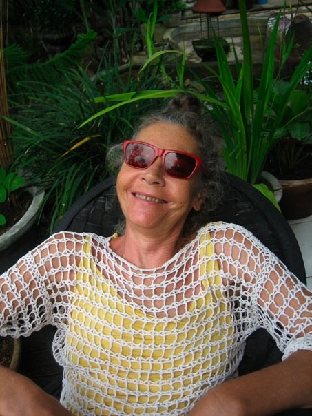 """Barbara , who is also lovingly called """" Dadong"""" or grandmother in Balinese."""