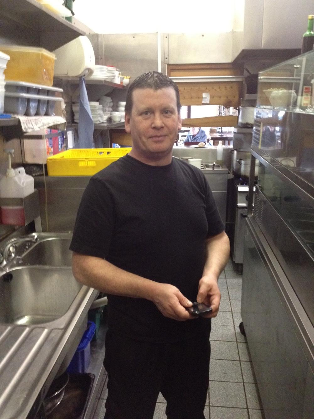 Joseph McAndrew Kitchen Porter, 2001