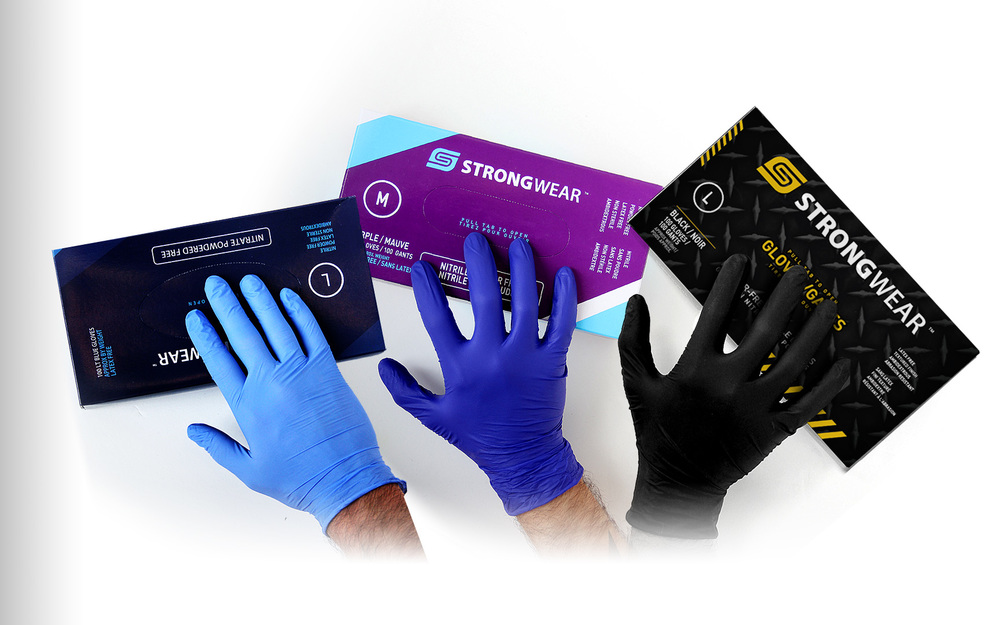 Strongwear Disposable Nitrile Gloves