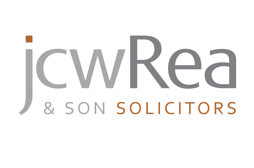 Brand identity design for JCW Rea Solicitors, Belfast