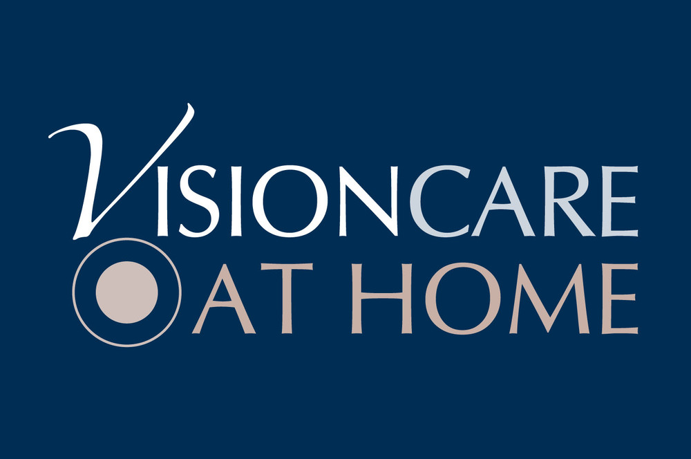 Brand identity design for Visioncare at Home, Glasgow
