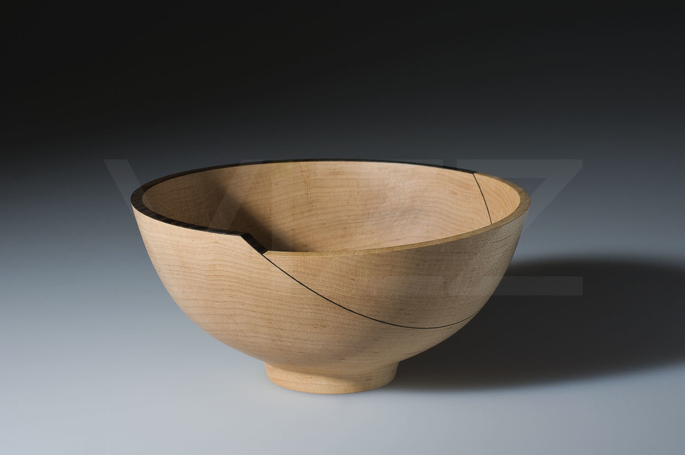 Wooden Bowl by Mark Hanvey - This is amazingly beautiful work by Mark.