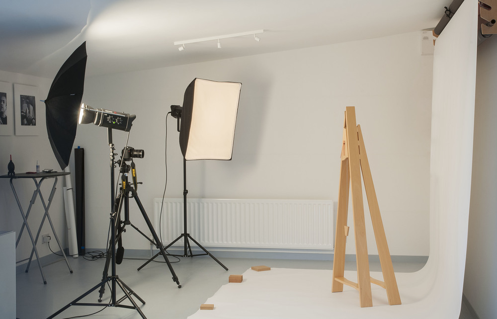 We now have a great space for taking photographs of larger products and people