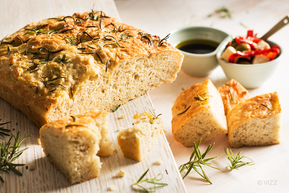 Food photography - My lovely Focaccia