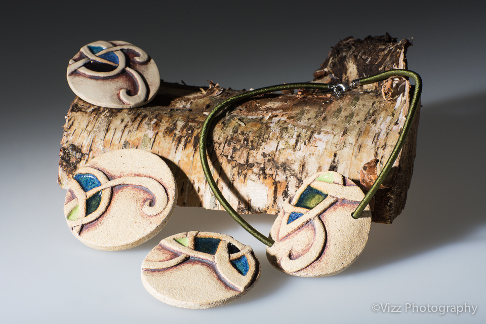 Ceramic Jewellery by Michelle Butler