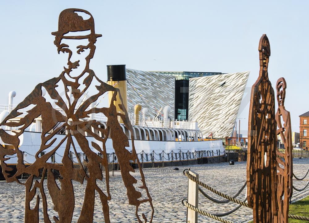 Titanic center & Charlie Chaplin