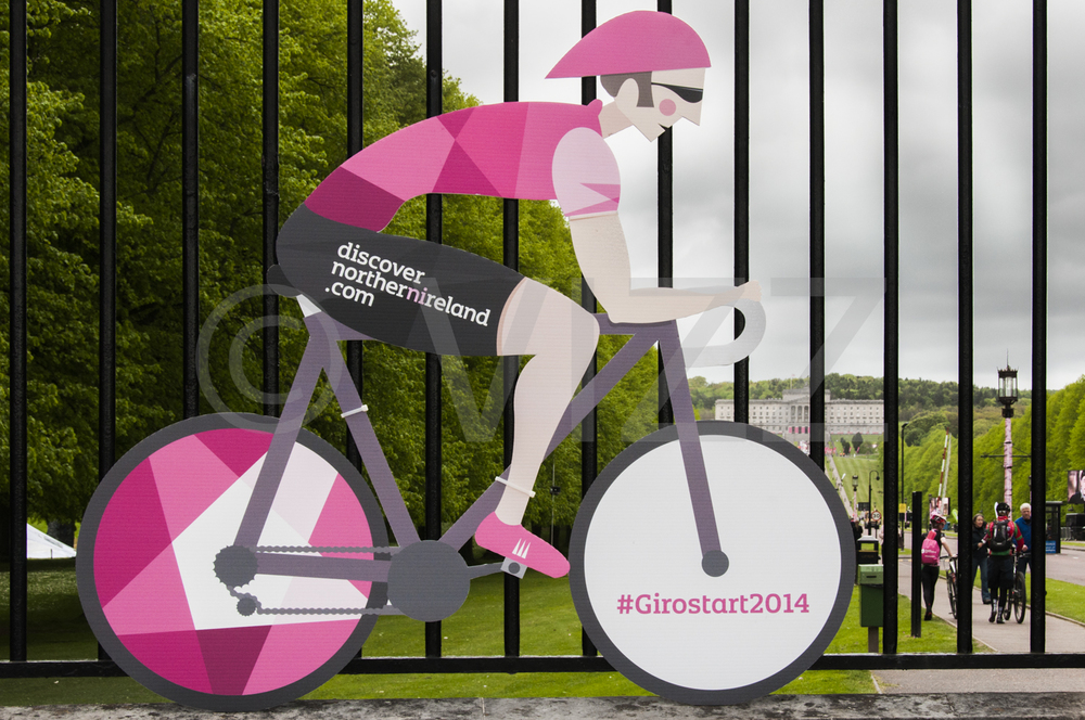 Giro d'Italia & Stormont, Belfast