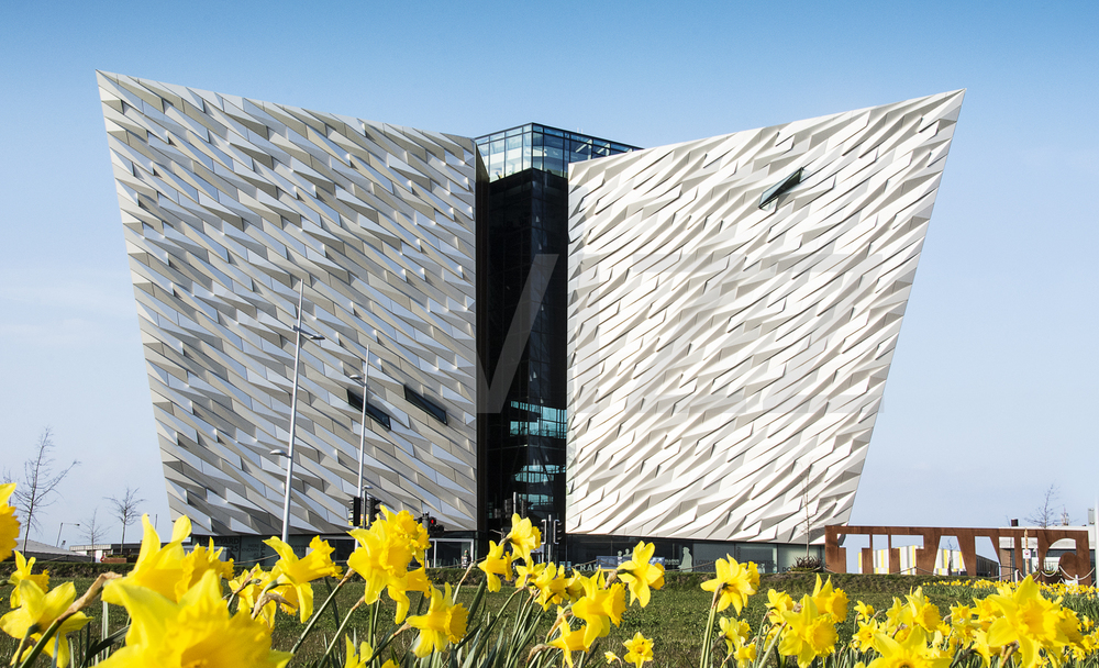 Titanic center in spring 2