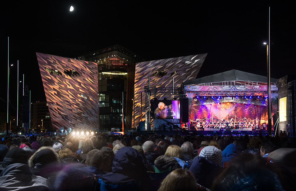 BBC Proms in the park, Belfast 2016