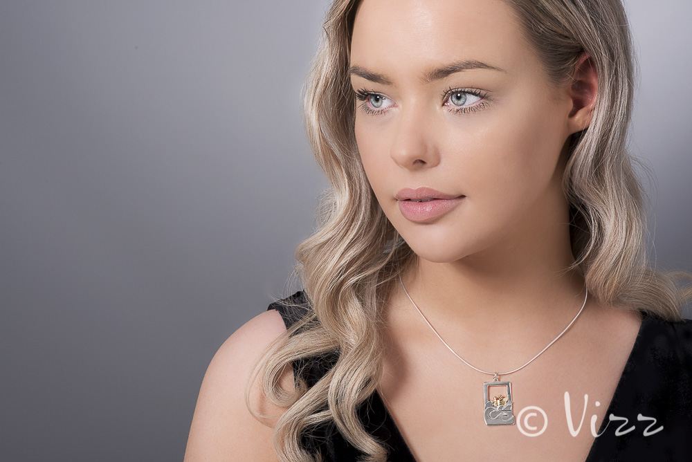 Client: Garrtett Mallon -Jewellery with Model
