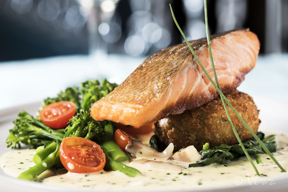 Food Photography for Fish City Belfast