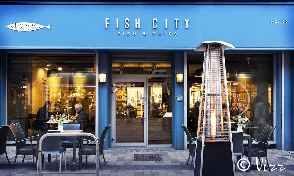 Food Photography - Client, Fish City, Belfast