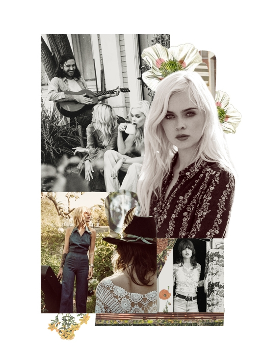 collage for free people photos by graham dunn