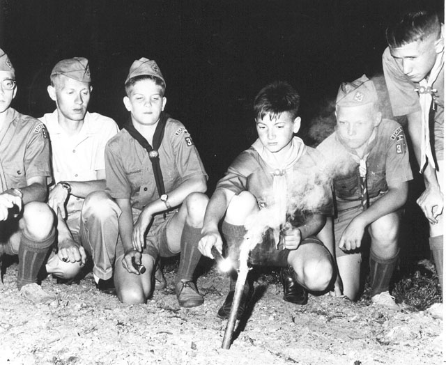 Boy Scouts circa 1960s