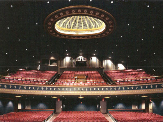 Interior of the Reg Lenna Civic Center, 1990s