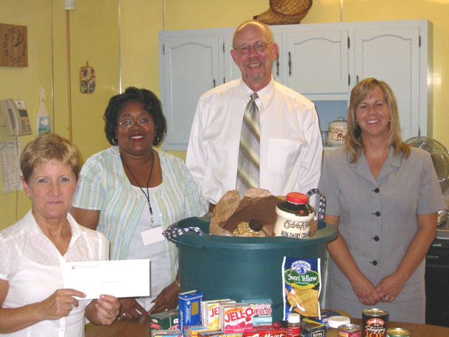 United Way Food Drive, 2007