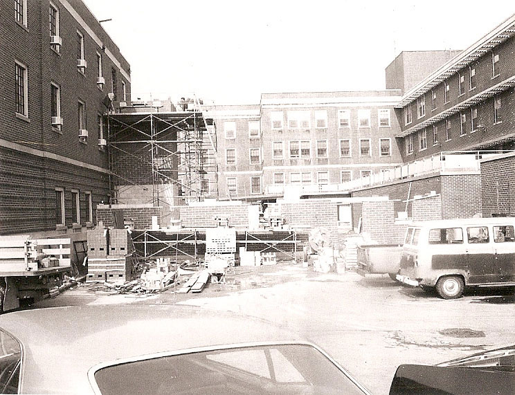 "WCA ""C Wing"" Addition under construction, 1964"