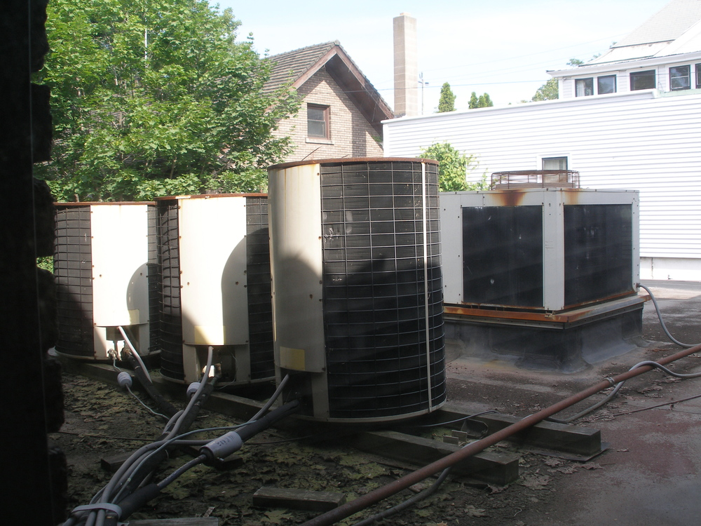 Replaced aging air conditioners