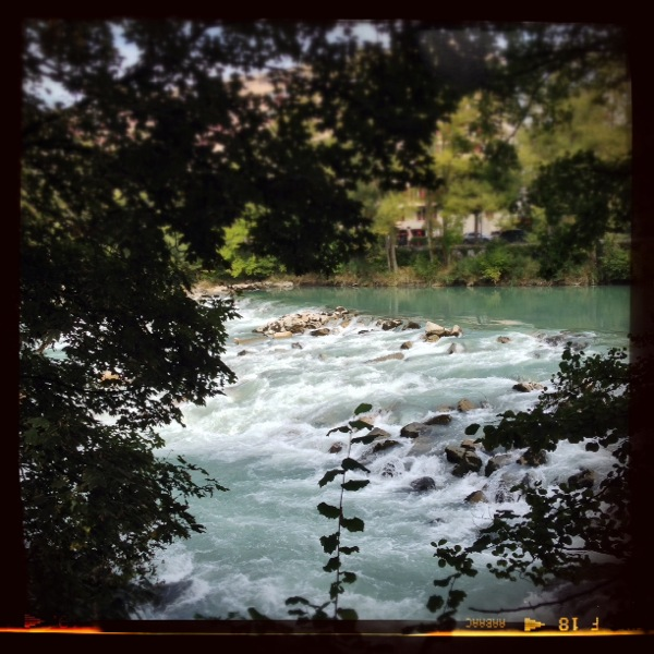 River Arve, Geneva, Switzerland