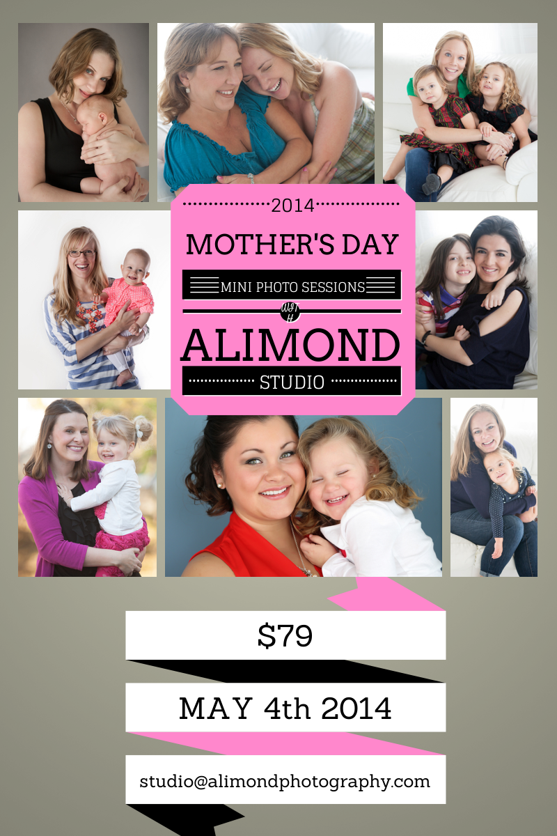 Mother's Day Mini Sessions by Alimond Photography in Leesburg, VA.
