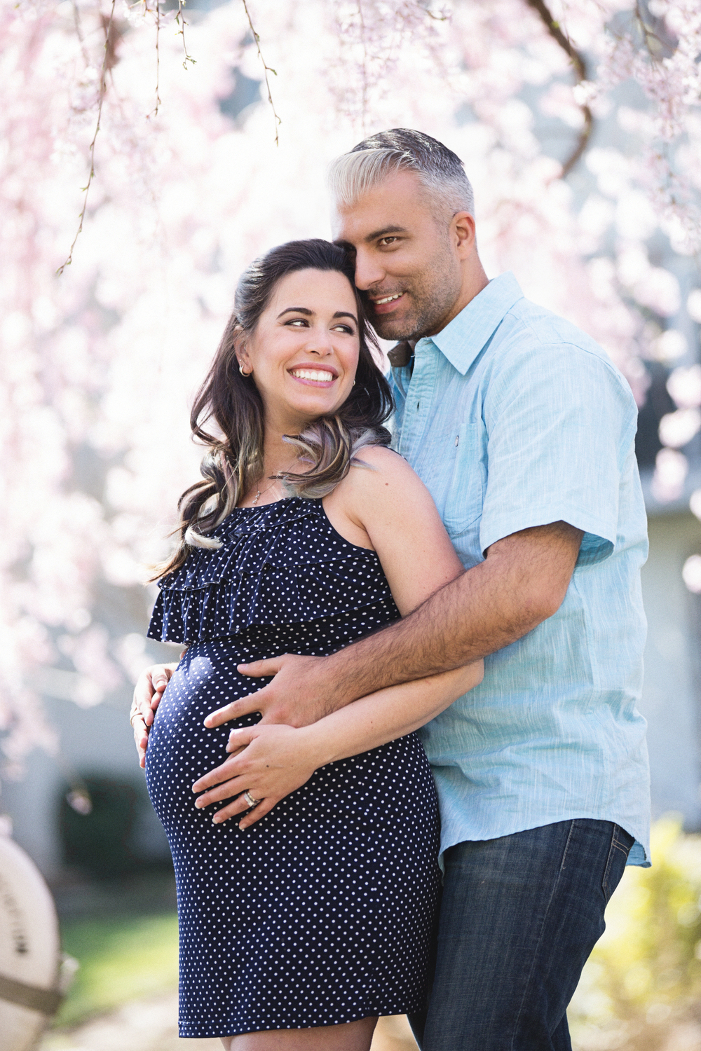 My Beautiful Client at her Maternity Session at alimondfamily.com
