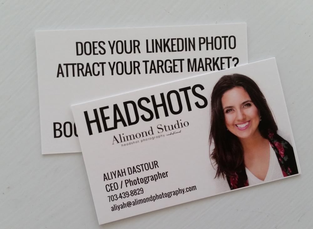 Business Cards: Headshot or No Headshot? — Alimond Studio