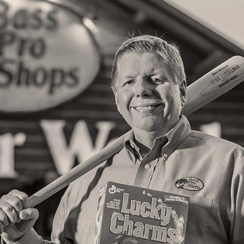 STAN LIPPELMAN   VP of Marketing, Bass Pro Shops