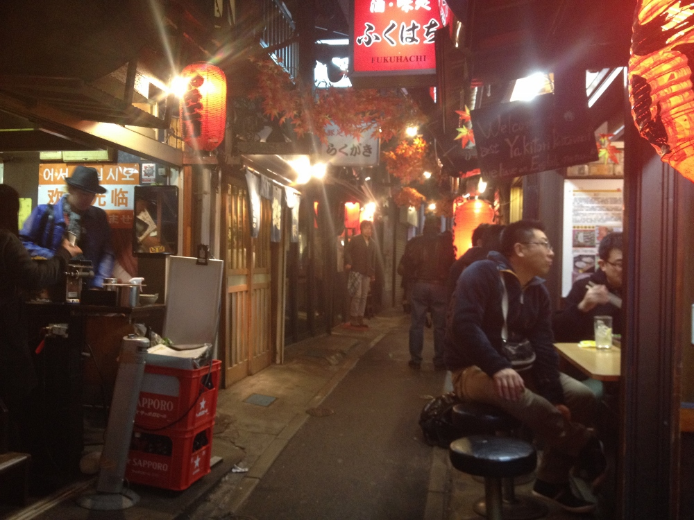 Shinjuku alleyway of good eats