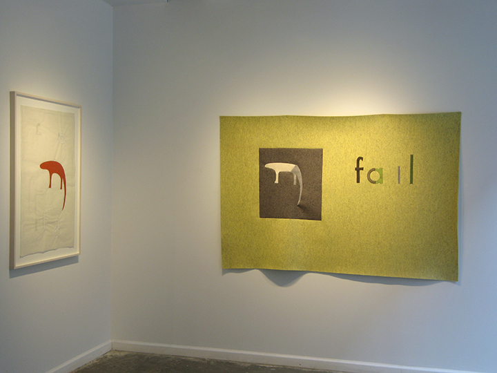the failed utopian , 2015 - Installation View 1. Lesley Heller Workspace, NY