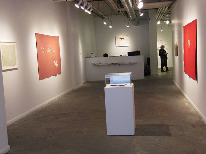 the failed utopian , 2015 - Installation View 3. Lesley Heller Workspace, NY