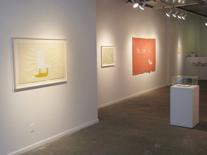 the failed utopian , 2015 - Installation View 5. Lesley Heller Workspace, NY