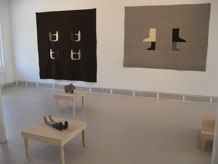 warm snow, Sculpture in Two and Three Dimensions , 2014 - Garrison Art Center, Garrison, NY. Installation View 2