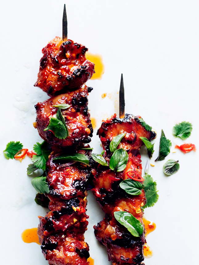 Bon Appetit Sambal Chicken Skewers