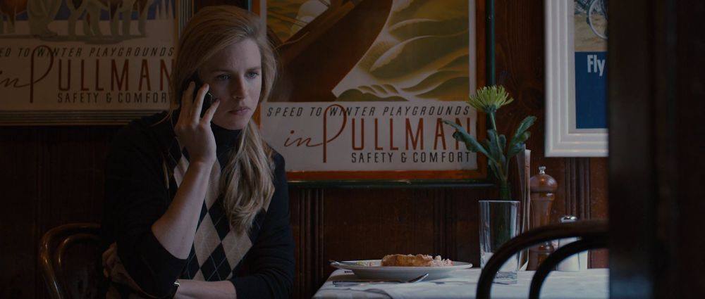 (I've also sat in that exact chair in that exact restaurant, so naturally I was going to have a connection to this movie for that.)