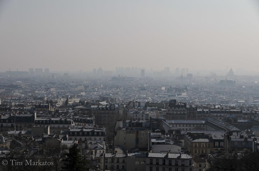 'Twas a smog-filled week in Paris...