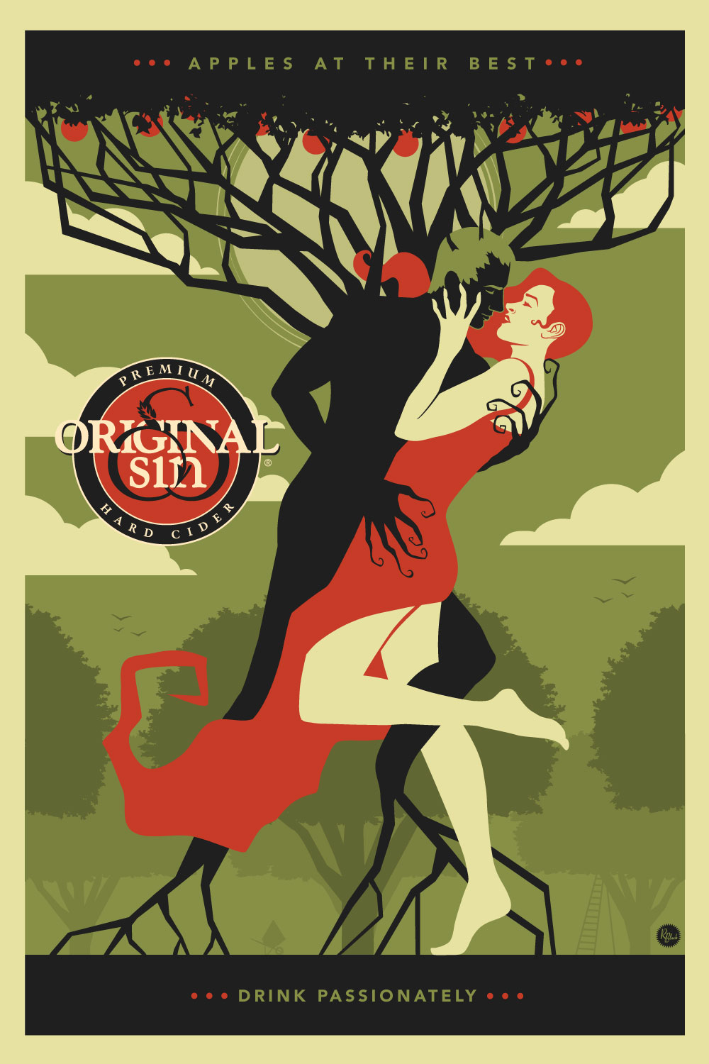 Cherry Tree Original Sin Hard Cider