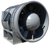 SMJ Industrial Mining Fan