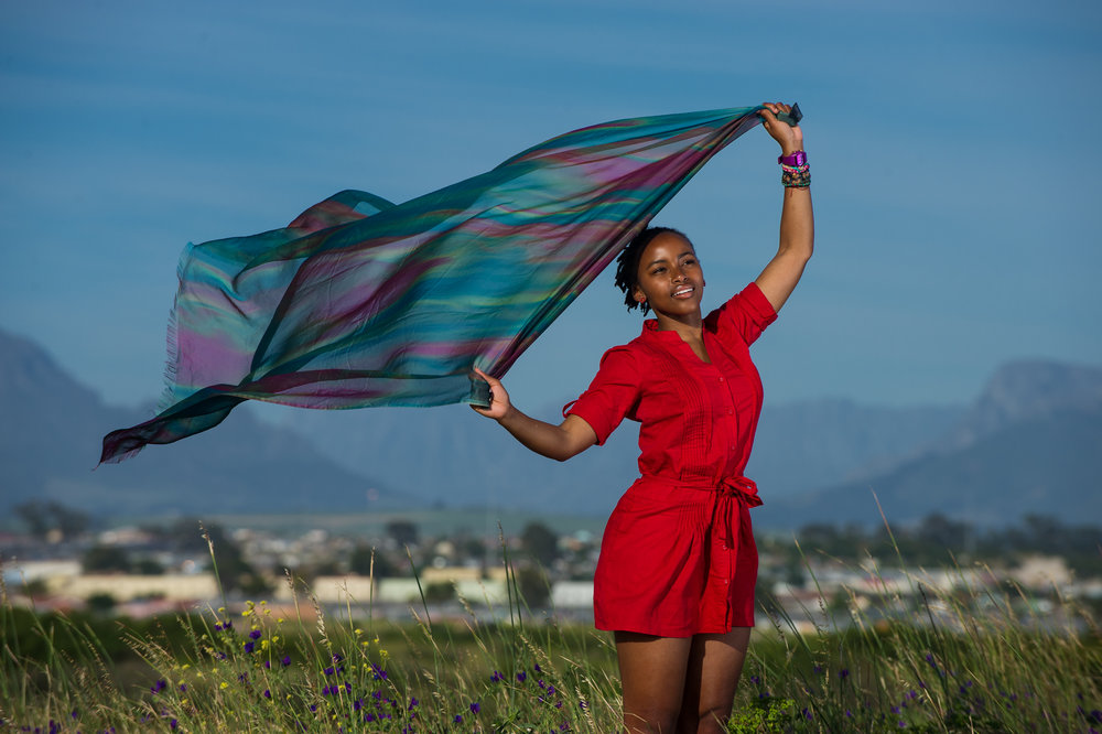 Olivia earned a scholarship to an elite high school about an hour's drive from her home in Khayelitsha. It takes two busses and a lot of luck for her to be in the Dance for All studio on time for her afternoon rehearsal.