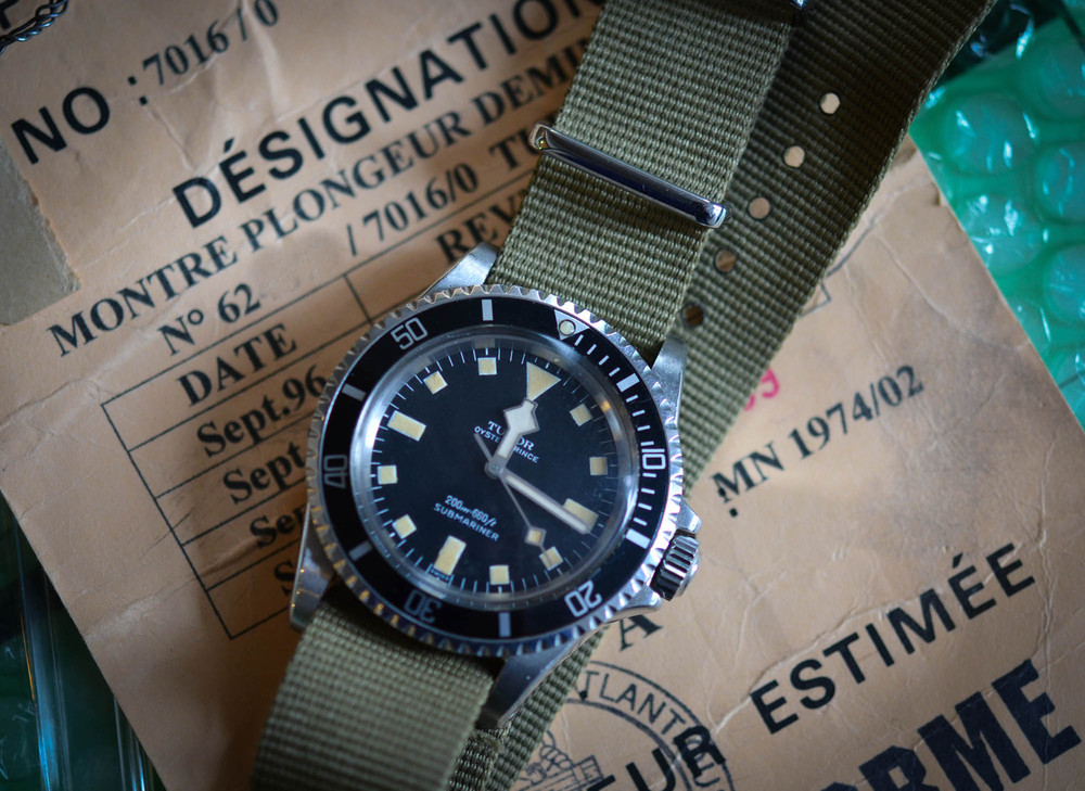 Tudor MN Submariner Dating To 1974, The Same Date As The South African Subs