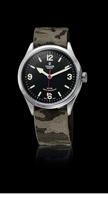 Heritage Ranger, Camouflage Fabric Strap